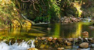 Νέδα ποταμός, καταρράκτης.