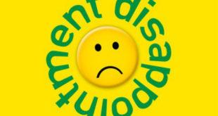 Αχαριστία και απογοήτευση