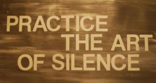 Η σιωπή είναι χρυσός