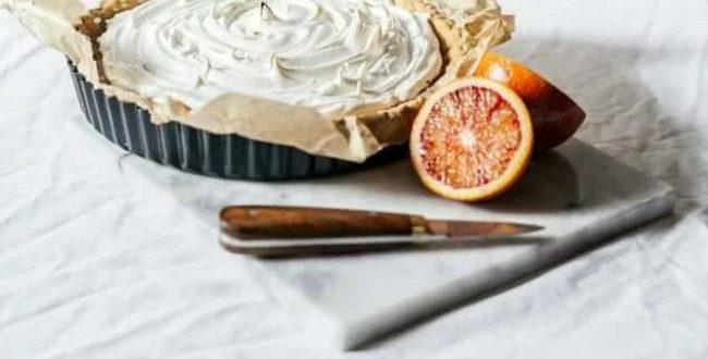 πορτοκαλόπιτα σιροπιαστό γλυκό