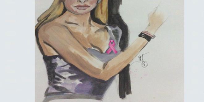 Ελένη Μενεγάκη, ροζ κορδέλα