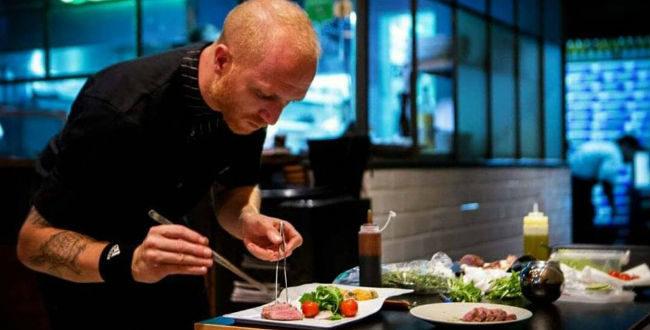 Στάθης Κόκκαλης, chef Bodegas wine bar restaurant