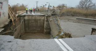 Μεγάλες καταστροφές στην Κρήτη.
