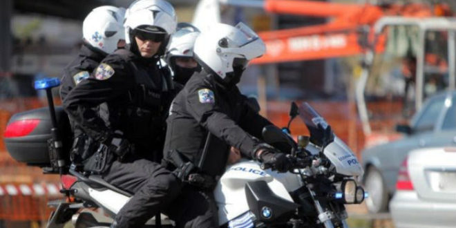 Επίθεση σε αστυνομικούς Διας.