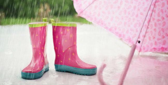 Μην αφήσεις μια βροχή να σου χαλάσει τη διάθεση