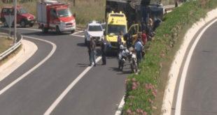 Κόρινθος: Ανατροπή κλούβας που μετέφερε κρατούμενους – 13 τραυματίες