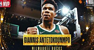 Ιστορικές στιγμές στο NBA: MVP του πρωταθλήματος ο Γιάννης Αντετοκούνμπο