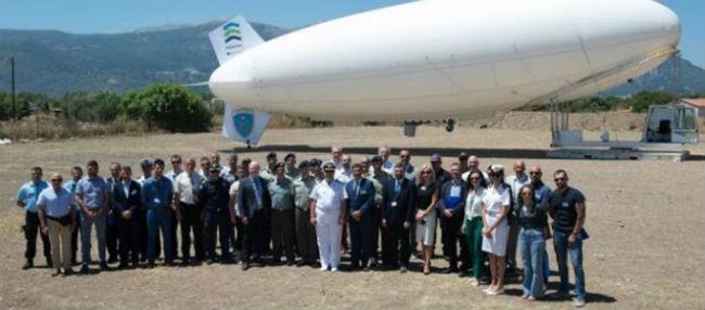 Ξεκινάει η επιτήρηση των θαλασσίων συνόρων: Το Ζέπελιν θα πετάξει σήμερα στον ουρανό του Αιγαίου