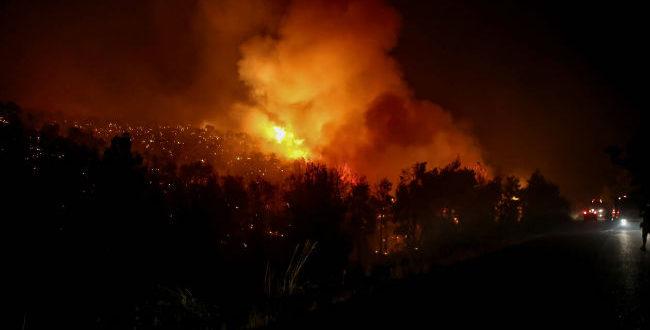 ΕΚΤΑΚΤΗ ΕΠΙΚΑΙΡΟΤΗΤΑ: Φωτιά τώρα στον Διόνυσο