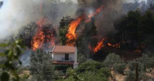 Εύβοια:Νέο πύρινο μέτωπο – Συναγερμός για τις συνεχείς αναζωπυρώσεις