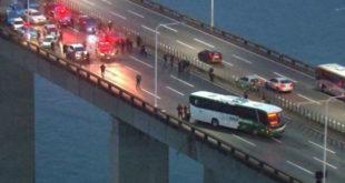 Ενοπλος κρατά ομήρους σε λεωφορείο στο Ρίο ντε Τζανέιρο