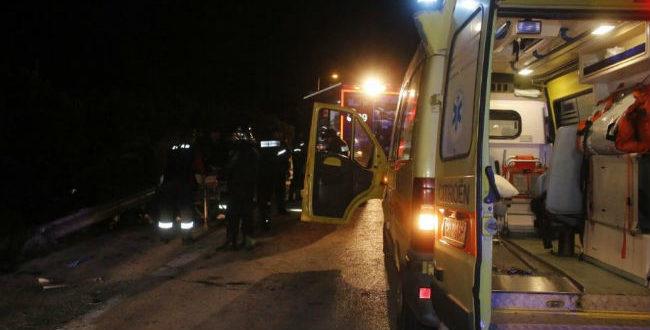 Θεσσαλονίκη: Σοβαρό τροχαίο με μία νεκρή και τρεις τραυματίες