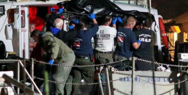 Ναυτική τραγωδία στην Καλιφόρνια: Ανασύρουν συνέχεια πτώματα