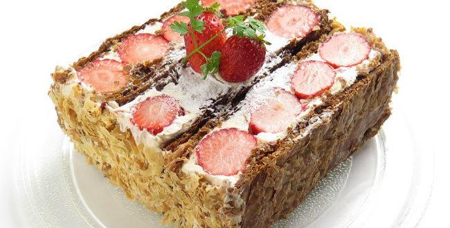 Millefeuille- Ένα νόστιμο και εύκολο γλυκό στο τραπέζι σου!