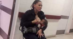 Προαγωγή για αστυνομικό στην Αργεντινή που θήλασε ξένο μωρό εν ώρα υπηρεσίας