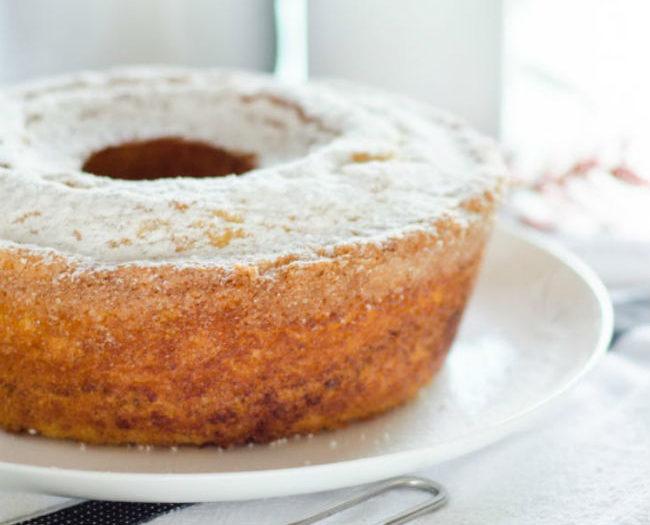 Κέικ Πορτοκάλι με Καρύδια και Γκανάζ Σοκολάτας- Πεντανόστιμο Κέικ!