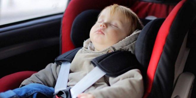 Γιατί τα παιδιά δεν πρέπει να φοράνε χοντρά μπουφάν στο καθισματάκι του αυτοκινήτου