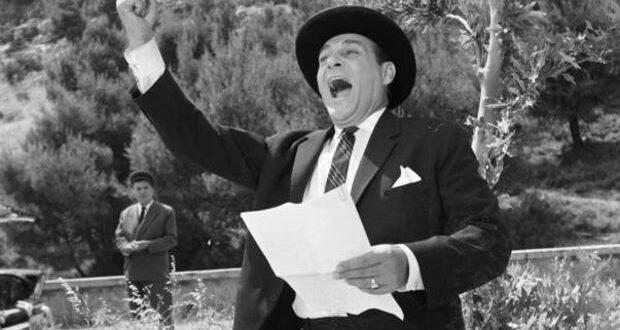Λάμπρος Κωνσταντάρας: Σαν σήμερα έφυγε από τη ζωή ο σπουδαίος κωμικός ηθοποιός