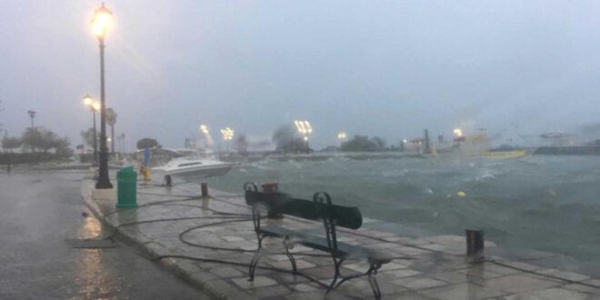 Ιανός: Ποιες περιοχές θα σαρώσει σήμερα ο κυκλώνας