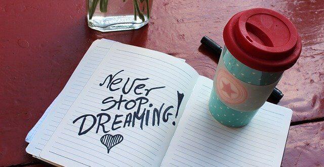 Τα όνειρα που κάνουμε είναι ένα κομμάτι της ζωής μας!