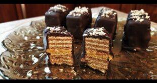 Θεϊκές γκοφρέτες με φυστικοβούτυρο και επικάλυψη σοκολάτας![vid]