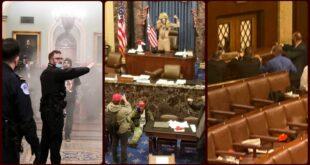 ΗΠΑ: «Εμφύλιος» με όπλα, δακρυγόνα και τραυματίες στην Γερουσία – «Εμπρηστής» ο Τραμπ και πρωτοφανείς εικόνες
