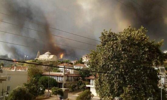 Ο δήμος Αρχαίας Ολυμπίας κάηκε, μαζί με τις ψυχές μας